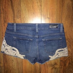 Celebrity Pink denim shorts